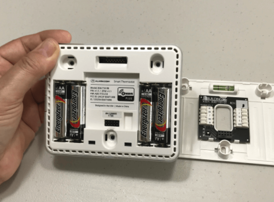 changing smart thermostat batteries in Florida
