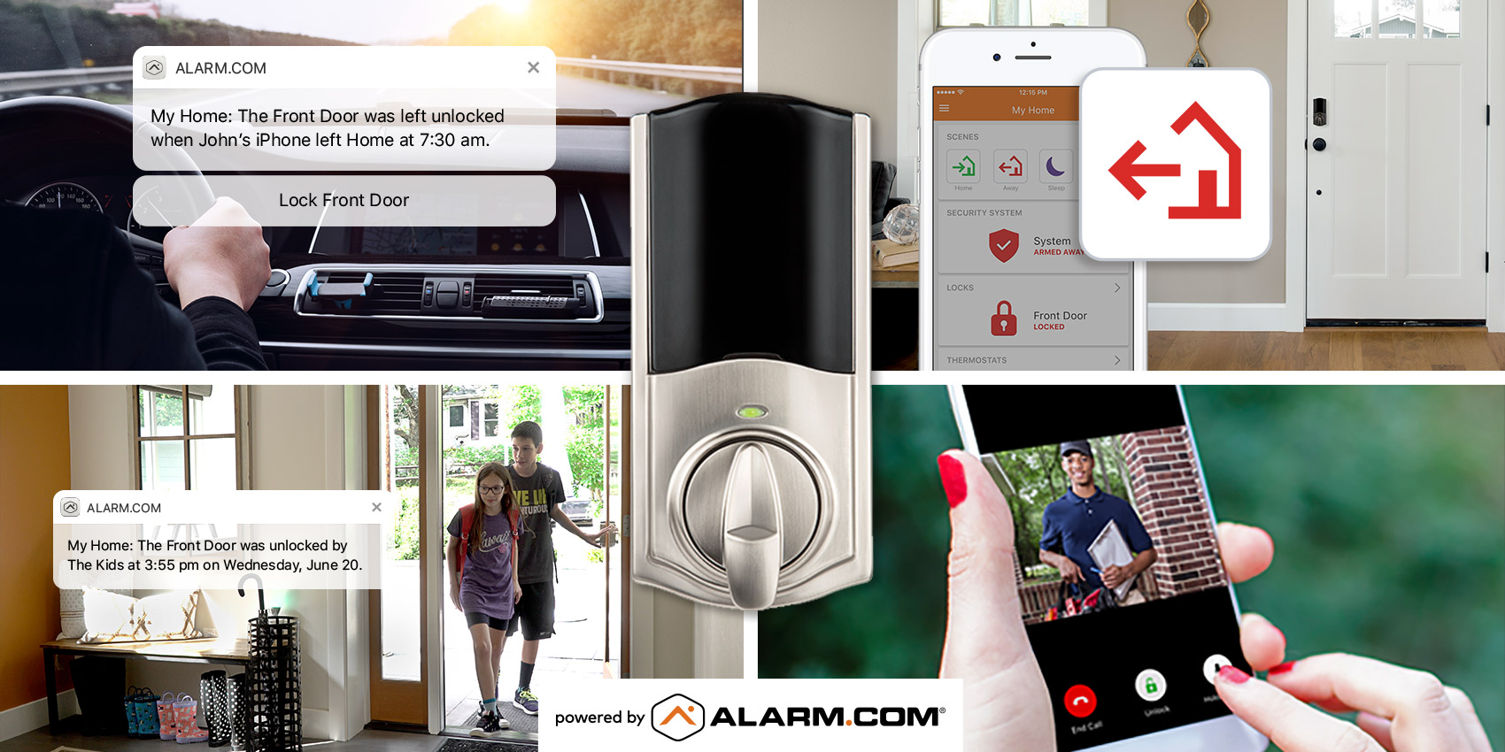 Four Ways to Use a Powered Smart Lock On Your Front Door