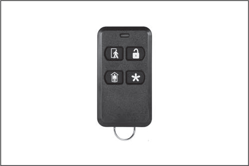 Keychain remote for alarm systems for sale